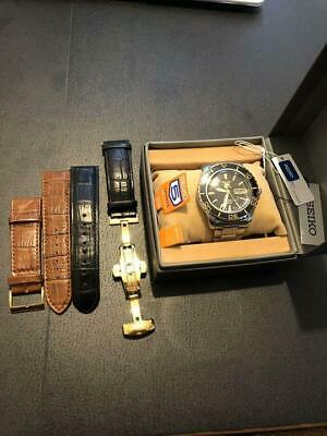 $ CDN586.91 • Buy Seiko 5 Sports Box Automatic Mens Watch Authentic Working