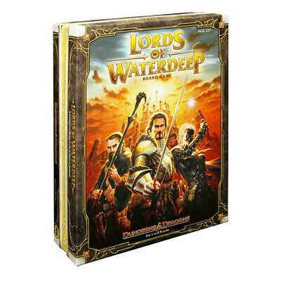 AU69.95 • Buy Lords Of Waterdeep A Dungeons & Dragons Board Game NEW