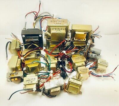 $ CDN117.26 • Buy Vintage Audio Transformer & Choke - Pedal Guitar Amplifiers -  Lot Of 18 Pieces