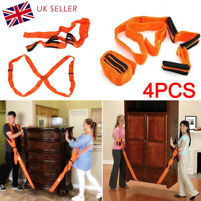AU21.11 • Buy Lifting Shoulder Straps Moving Lift Aid Tool Heavy Furniture Appliances Dolly UK