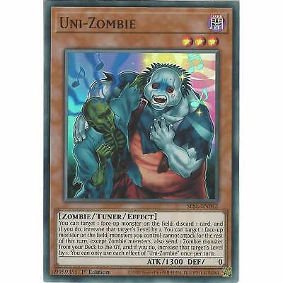 SESL-EN042 Uni-Zombie | 1st Edition Super Rare | YuGiOh Trading Card Game TCG • 0.99£
