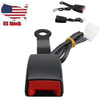 $16.14 • Buy Front Driver Seat Belt Buckle Plug Connector Warning Cable Duty Belt Camlock US