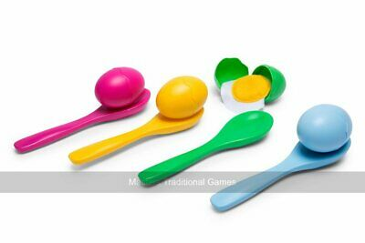 Egg And Spoon Race With Cracking Eggs (UK) • 17.99£