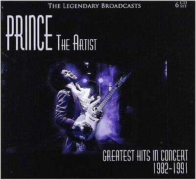 Prince - The Artist Greatest Hits In Concert 1982-1991 (Box Set 6cd)# • 17.59£