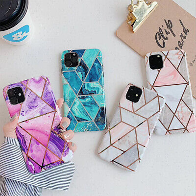AU8.90 • Buy For IPhone SE 2020 Case Soft TPU Marble Shockproof Silicone Gel Cover AU 8 7