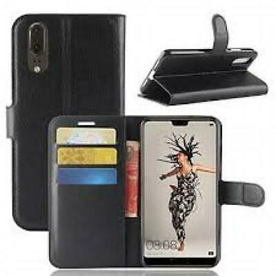 Leather Magnetic Flip Wallet Case For Huwaei P30 Psmart P20 Honor Mate Y Series • 3.99£
