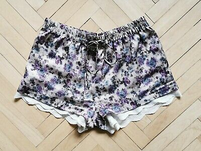 Zara Silky Shorts With Lace Size S Perfect Condition • 30£