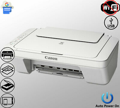 View Details Canon Printer Scanner Copier Photo All-in-One USB Inkjet White (Not Wireless) • 79.00$