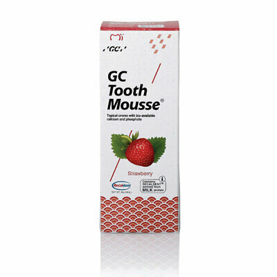 AU26.99 • Buy GC Tooth Mousse Strawberry 40g
