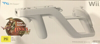 AU40 • Buy Official Wii Zapper + Link's Crossbow Training Bundle - Nintendo Wii Brand New