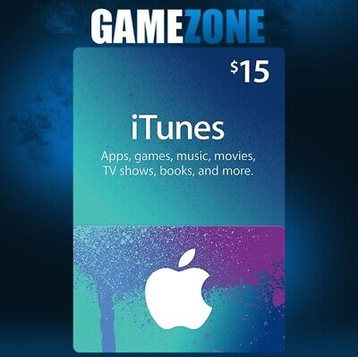 AU26.67 • Buy ITunes Gift Card $15 USD USA Apple ITunes Code 15 Dollars United States Digital