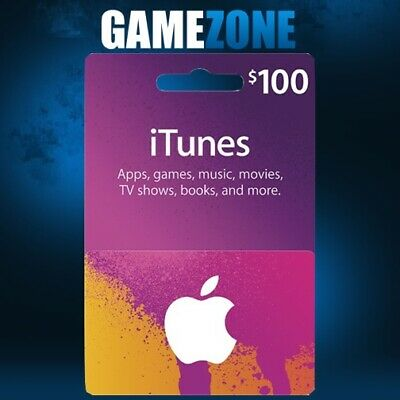 AU162.28 • Buy ITunes Gift Card $100 USD USA Apple ITunes Code Dollars United States Digital