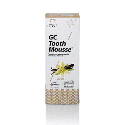 AU26.99 • Buy GC Tooth Mousse Vanilla 40g