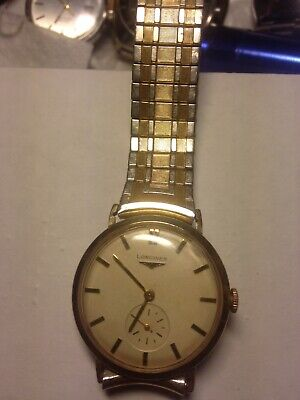 $ CDN375 • Buy Vintage Longines 1943 Cal 10 L Mens Watch
