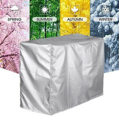 AU14.58 • Buy Silver Outdoor Air Conditioner Cover Anti-Dust Waterproof Air Conditioner W0S5
