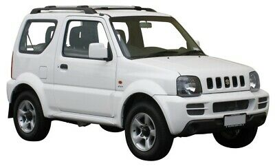 AU359.10 • Buy Whispbar Silver 2 Bar Roof Rack For Suzuki Jimny 3dr SUV 5/99-18 (S44W & )