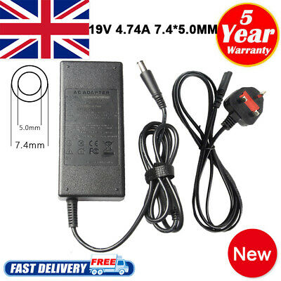 For HP Compaq Presario CQ58 CQ59 CQ61 Laptop Power Supply Adapter Charger 90w PC • 11.49£