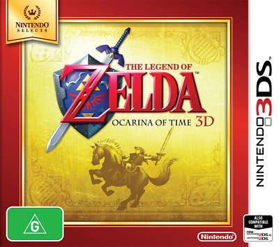 AU36.95 • Buy The Legend Of Zelda Ocarina Of Time 3D 3DS Game NEW