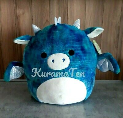 $ CDN59.90 • Buy Kellytoy Squishmallows Dominic Blue Dragon Textured Large 16  Plush Pillow NEW