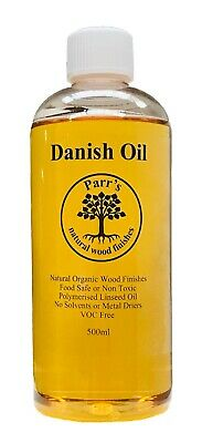 £10.99 • Buy 500ml Danish Oil - Completely Safe - - Voc Free- Contains No Solvents