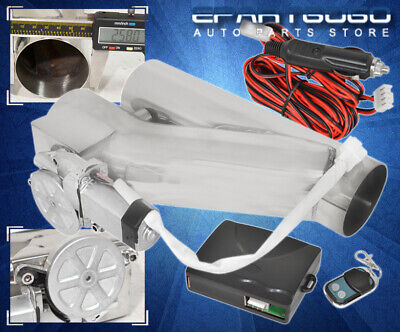 $ CDN113.67 • Buy 2.5  Electric Exhaust Catback/Downpipe Cutout Valve System Kit W/ Remote Control