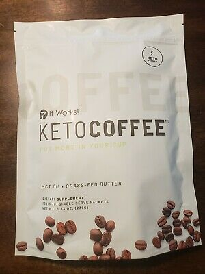 $42.45 • Buy It Works! Keto Coffee Brand New Manufactured Sealed Bag. Contains 15 Single Pack