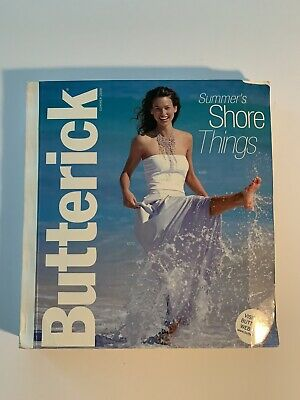 $29.99 • Buy Large BUTTERICK Sewing Pattern Catalog Store Counter Book Summer 2000