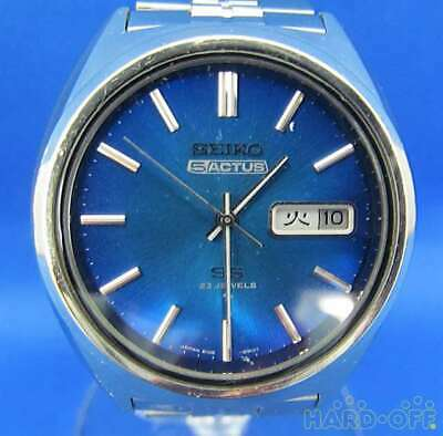 $ CDN462.69 • Buy Seiko 5 Actus 6106-8670 Stainless Steel Automatic Mens Watch Authentic Working