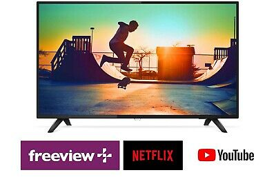 AU530.10 • Buy Philips 55  Ultra Slim UHD LED LCD Smart TV W/ WiFi, USB PVR, Netflix, Freeview