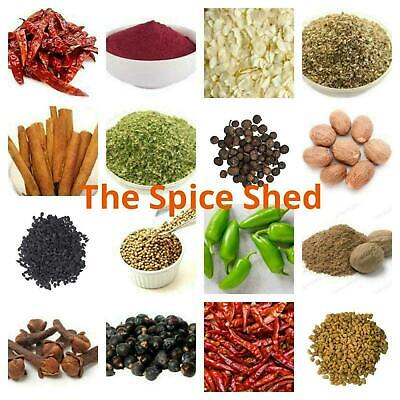Whole Spices, Ground Spices, Herbs, Seeds And Chillies**FREE POSTAGE** • 1.39£