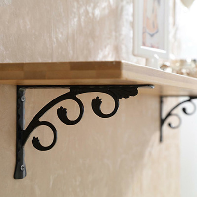 AU16.99 • Buy 2X Wall Mounted L Shaped Angle Bracket Multifuntional Brace Shelf Brackets AU