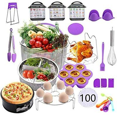 $100 • Buy Instant Pot Accessories Set,121 Pieces Pressure Cooker Accessories Kit,Fit 5,6,8