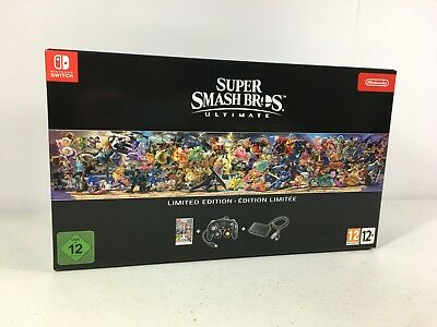 $199.95 • Buy Super Smash Bros Ultimate European Limited Edition Game US Seller NOT A CONSOLE