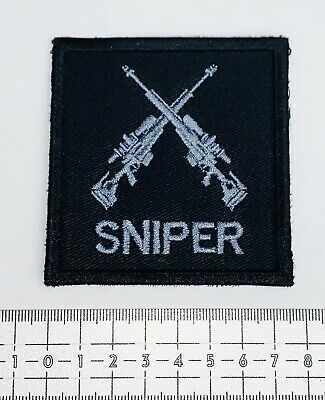 £9.50 • Buy ARV AX Police Rifle Sniper Patch/Badge 8cm X 8cm. Airsoft. Hook Fastening Backed