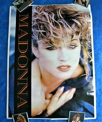 $100 • Buy MADONNA SUPER RARE PROMO LITHOGRAPH ANGEL POSTER CANADA 1985 MINT(sealed) Virgin
