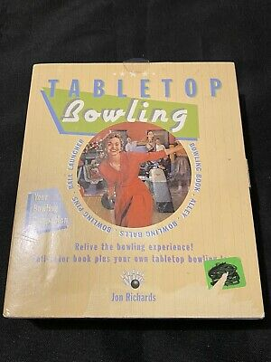 $14.95 • Buy Table Top Bowling Game New In The Box