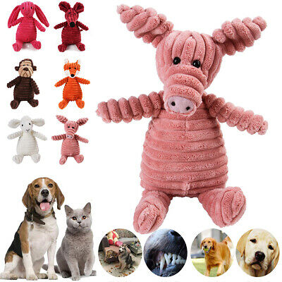 Cute Pet Dog Chew Toy Squeaker Squeaky Soft Plush Play Sound  Puppy Teeth Toys • 7.49£