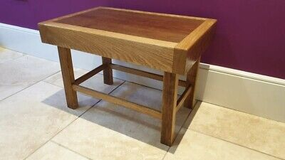 Solid Oak Coffee Table With African Red Cedar Top • 70£