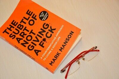 AU18 • Buy The Subtle Art Of Not Giving A Fck - By Mark Manson - Paperback