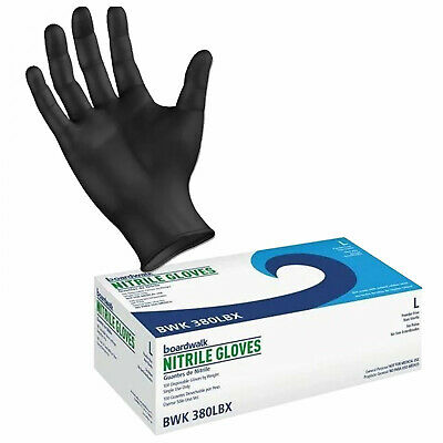 $ CDN28.83 • Buy Boardwalk 4 Mil Nitrile Disposable Gloves Powder And Latex Free 100 PC - Large