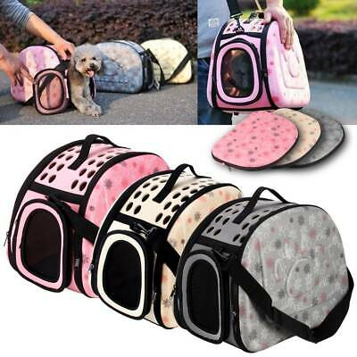 £14.99 • Buy Portable Pet Dog Cat Travel Carrier Tote Rabbit Cage Bag Crate Kennel Box Holder
