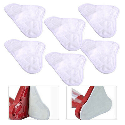 AU18.47 • Buy 6PCS Washable Floor Steam Cleaning Mop Cleaner Cloth Pads Fit For X5 H20 H2O Se