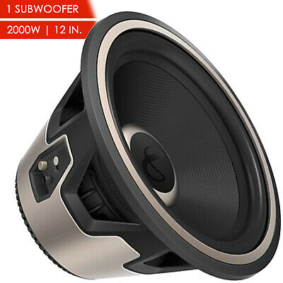 $119 • Buy Nfinity Kappa 1200w 12  Car Audio Subwoofer W/ Selectable 2 Or 4-ohm Impedance