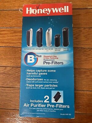 Honeywell Model HRF-B2 Replacement Air Purifier Pre-Filter B Plus, 2 Pack Box • 16.59£