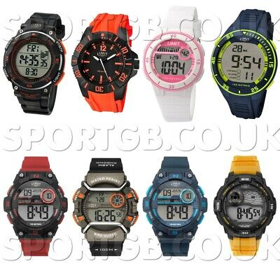 £19.95 • Buy Limit Watches Sports Waterproof Rubber Strap Watch Digital Analogue Mens Ladies