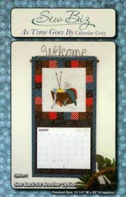 $1.50 • Buy AS TIME GOES BY Calendar Quilt Pattern By Sew Biz NEW! 13  X 25  Sewing Crafts