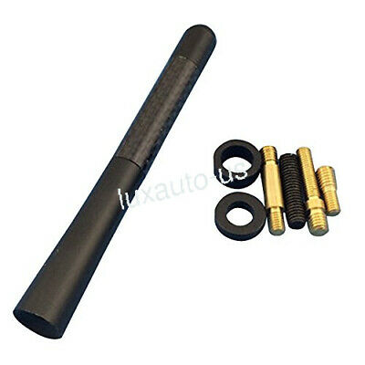 $9.55 • Buy Car Install 4.7  Short Stubby Antenna Mast Adapter For Nissan AM/FM Radio Black