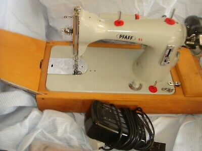 Vintage Pfaff 51 Semi Industrial Heavy Duty Electric Sewing Machine • 175£
