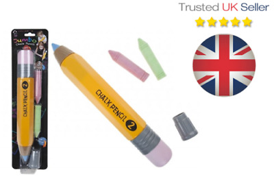 £6.99 • Buy Giant Chalk Pencil, Pavement Games, Childrens Creative Outdoor Fun . UK STOCK