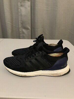 $99.99 • Buy Men's 2015 Adidas Ultra Boost 1.0 OG Black Gold Purple Blue Low Sz 7.5  (B27171)